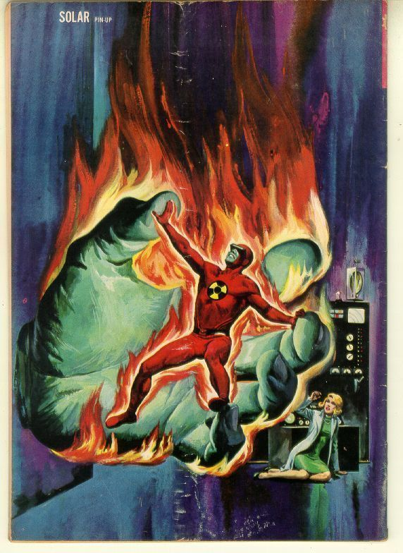 DOCTOR SOLAR, MAN OF THE ATOM #8 (Gold Key, 1964)