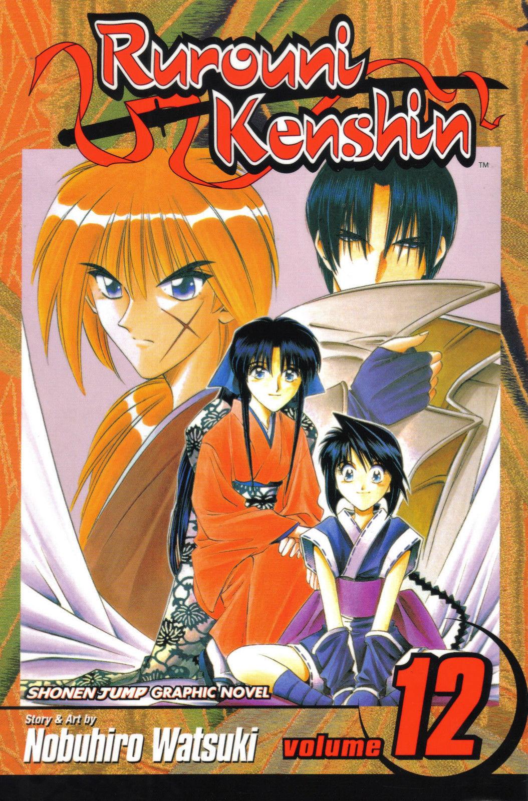 Rurouni Kenshin Vol. 12 (Viz) ~ Shonen Jump