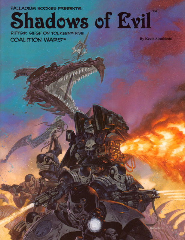 RIFTS Shadows of Evil - Coalition Wars: Siege on Tolkeen Five