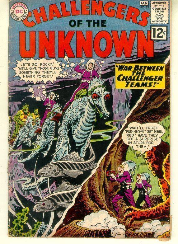 CHALLENGERS OF THE UNKNOWN #29 (1963)