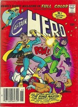 CAPTAIN HERO DIGEST #1 (Archie Comics, 1981) - $8.00