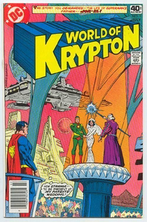 WORLD of KRYPTON #1 (1979) ~ Superman