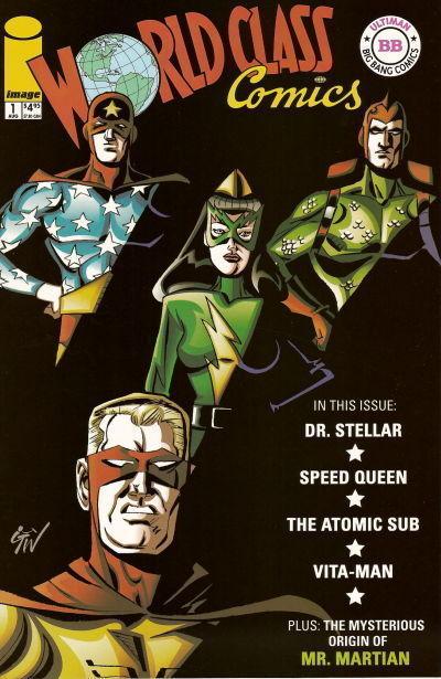 WORLD CLASS COMICS #1 (Image Comics, 2002) NM! ~ ULTIMAN