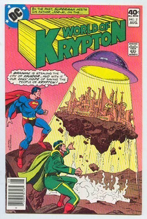 WORLD of KRYPTON #2 (1979) ~ Superman
