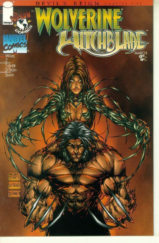 WOLVERINE / WITCHBLADE #1 (Devil's Reign) NM!