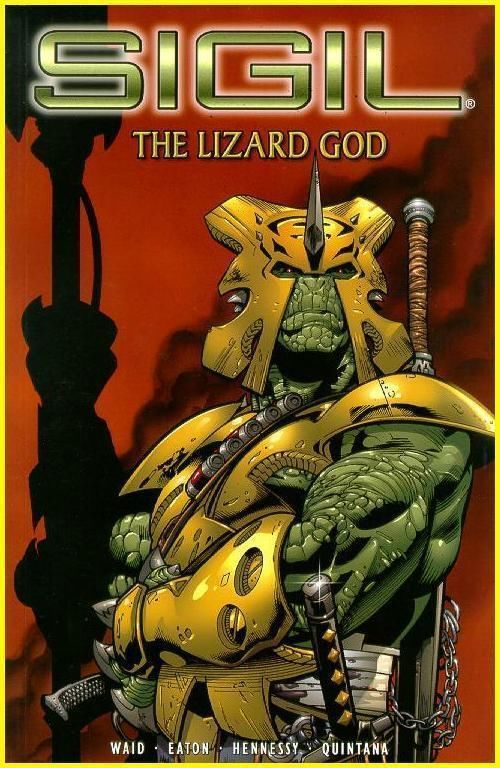 Sigil Vol. 3 The Lizard God Trade Paperback