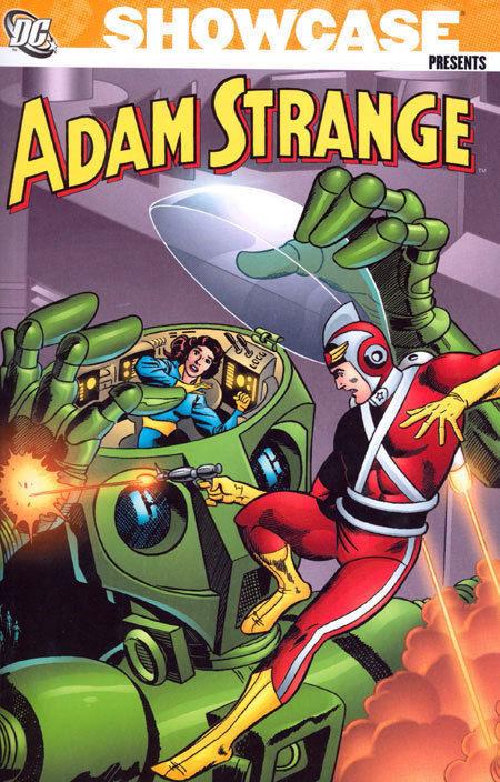Showcase Presents Adam Strange Vol. 1 Trade Paperback