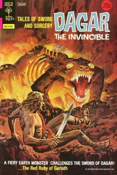 DAGAR the INVINCIBLE #8 (Gold Key, 1974)