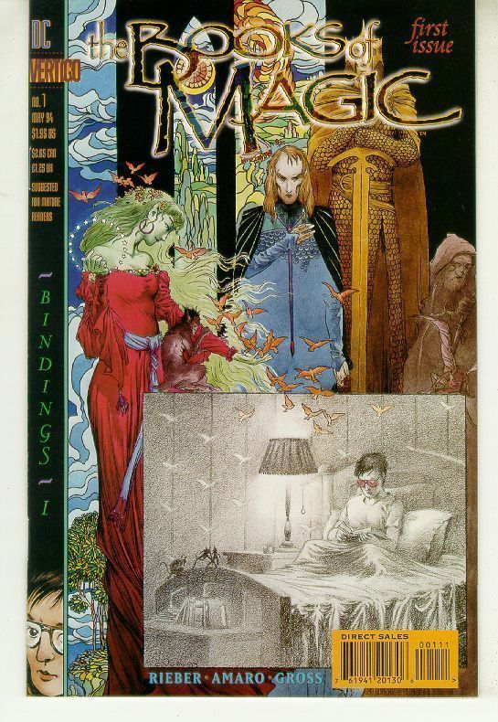 BOOKS of MAGIC #1 (Vertigo) NM!