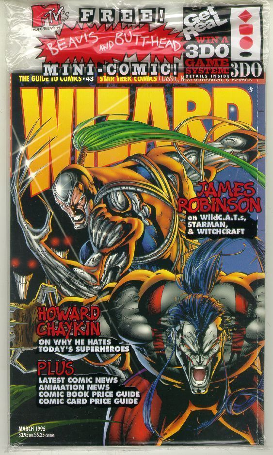 WIZARD: The GUIDE to COMICS #43 NM!