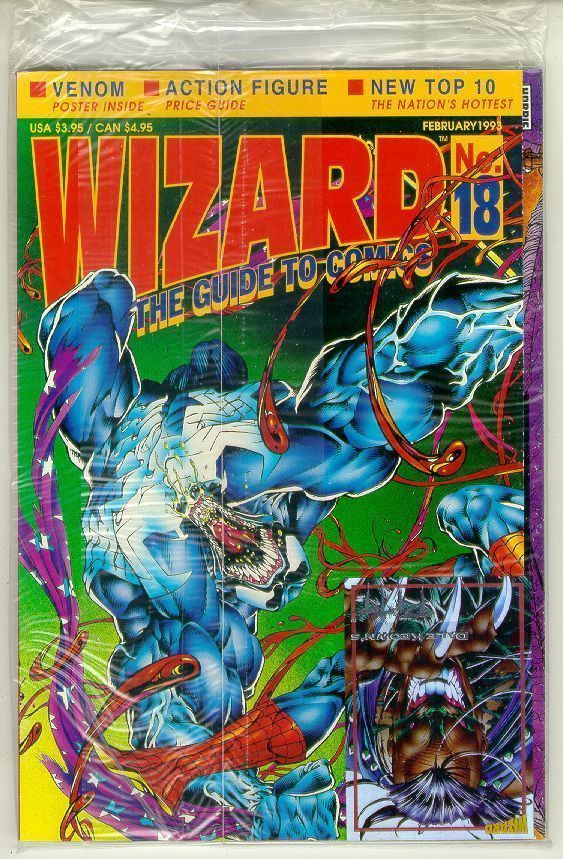 WIZARD: The GUIDE to COMICS #18 NM!