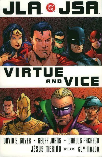 JLA / JSA Virtue and Vice Trade Paperback