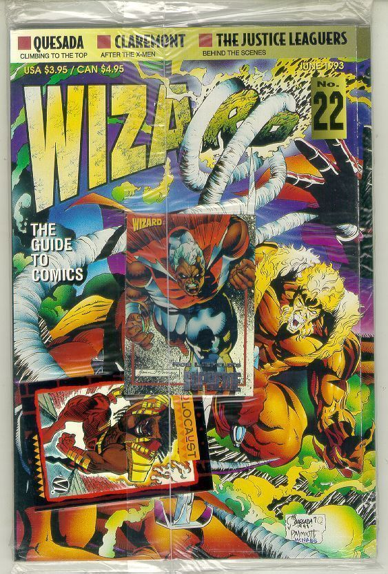 WIZARD: The GUIDE to COMICS #22 NM!