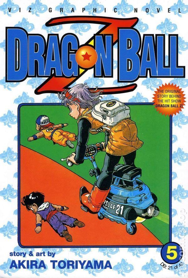 Dragon Ball Z Vol. 5 (Viz Graphic Novel) ~ Akira Toriyama