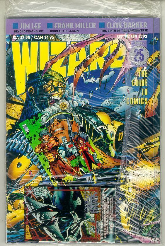 WIZARD: The GUIDE to COMICS #25 NM!