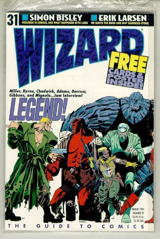 WIZARD: The GUIDE to COMICS #31 NM!