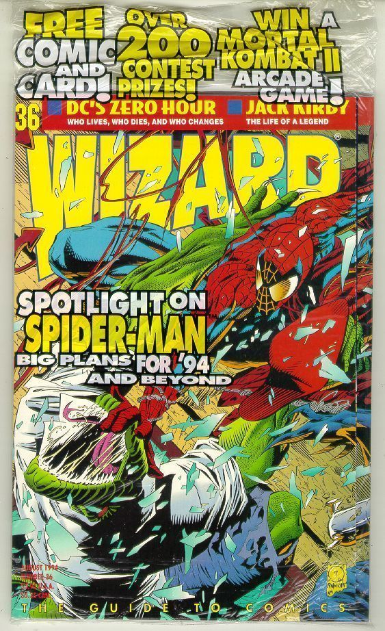 WIZARD: The GUIDE to COMICS #36 NM!