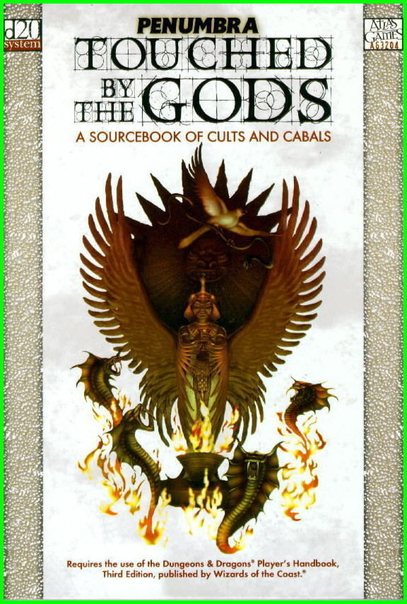 D&D Touched By the Gods Hardcover