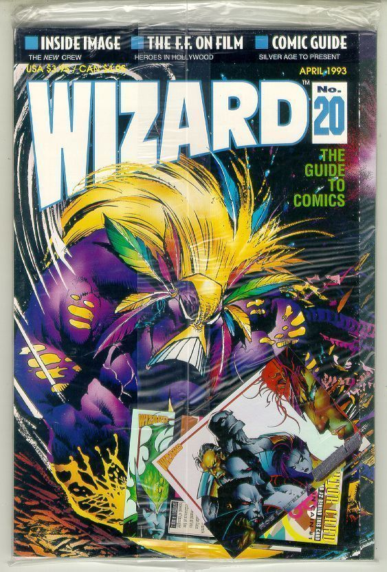 WIZARD: The GUIDE to COMICS #20 NM!