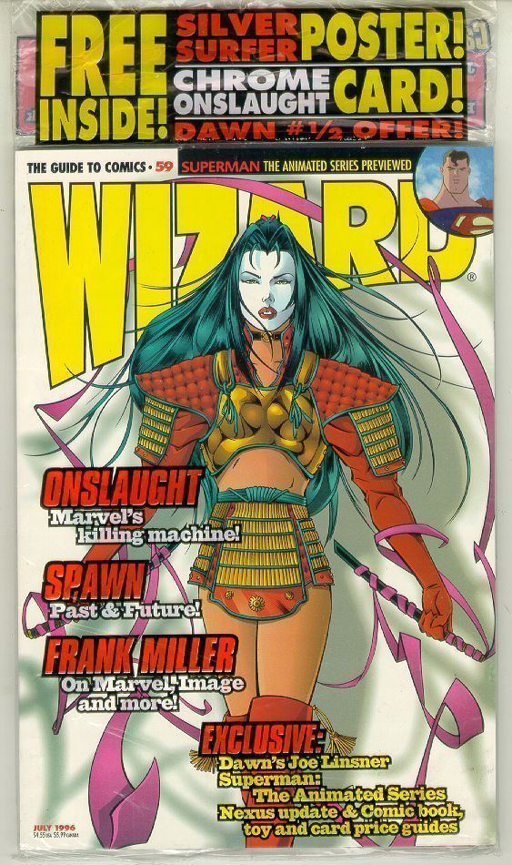 WIZARD: The GUIDE to COMICS #59 NM!