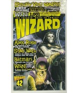 WIZARD: The GUIDE to COMICS #42 (Villains Cover) NM! - $5.00