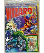 WIZARD: The GUIDE to COMICS #17 (Silver Cover) NM! w/ SANTA the BARBARIA... - $7.50