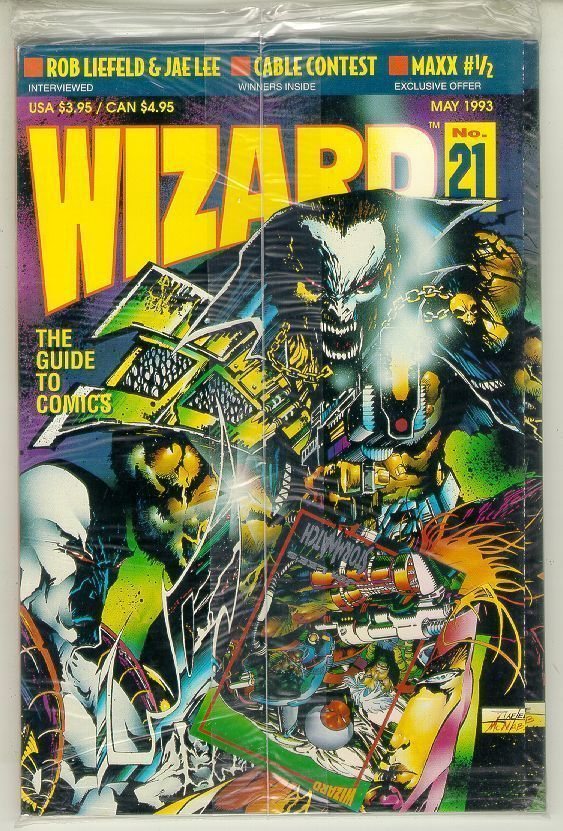 WIZARD: The GUIDE to COMICS #21 NM!