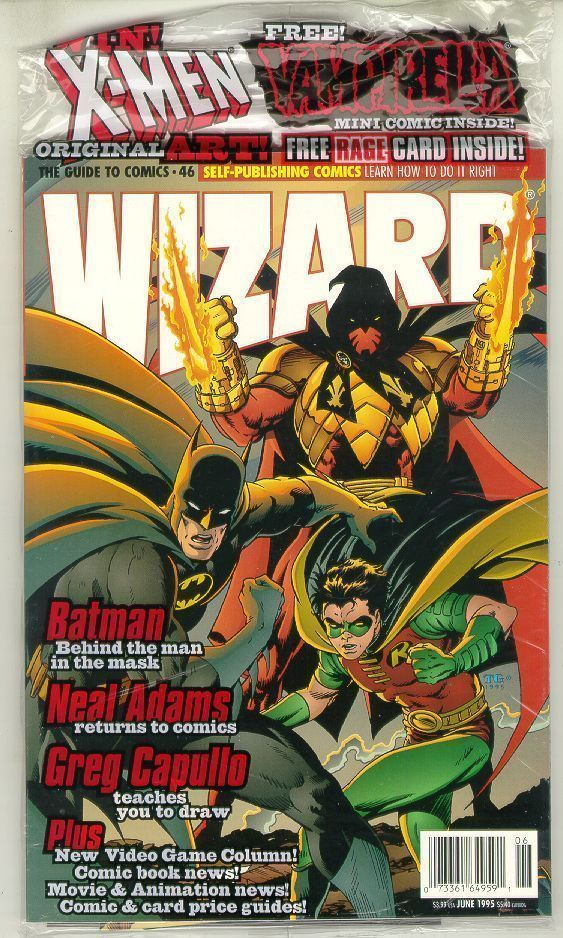 WIZARD: The GUIDE to COMICS #46 NM!