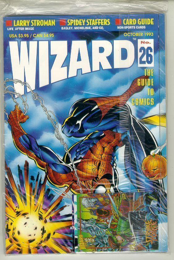WIZARD: The GUIDE to COMICS #26 NM!