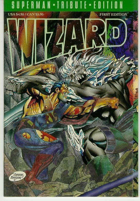 WIZARD: SUPERMAN TRIBUTE EDITION NM!
