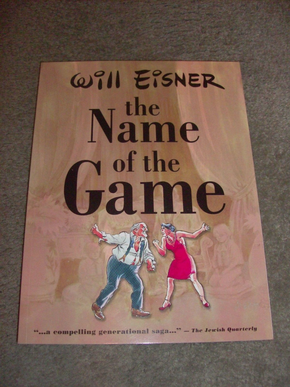 Will Eisner The Name of the Game GN