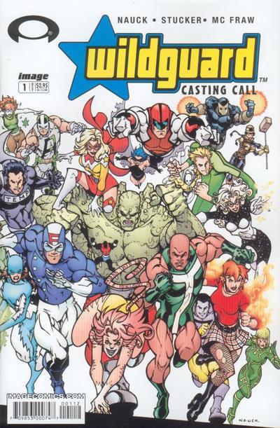 WILDGUARD: CASTING CALL #1 (Image Comics) NM!