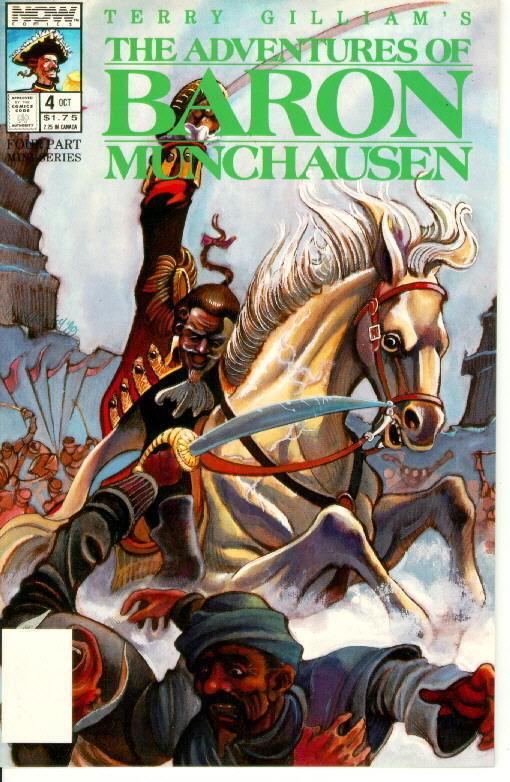 Adventures of Baron Munchausen #4 (Now Comics, 1989)