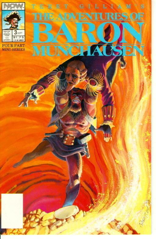 Adventures of Baron Munchausen #3 (Now Comics, 1989)