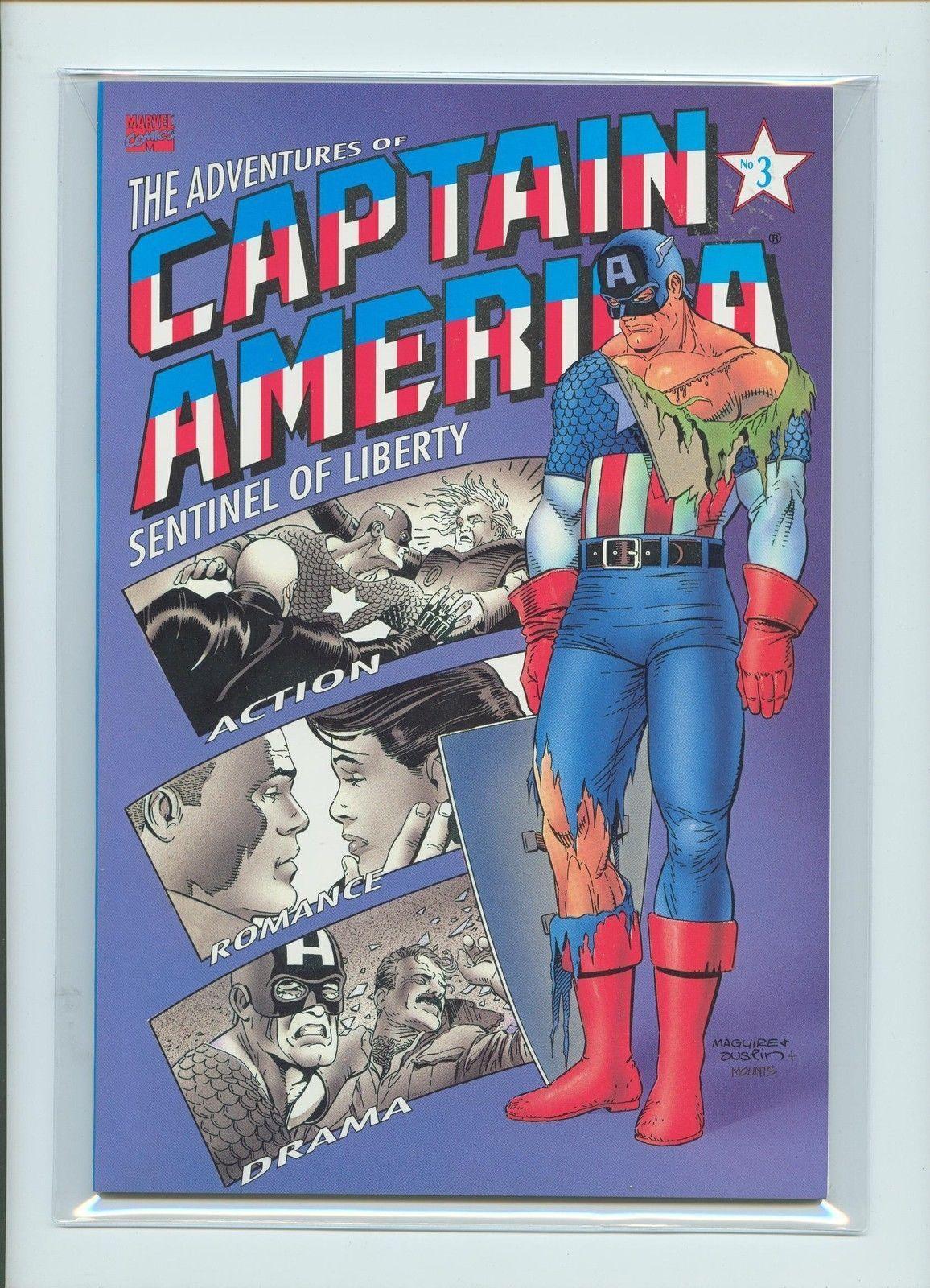 Adventures of CAPTAIN AMERICA, Sentinel of Liberty #3