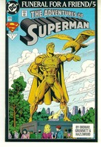 ADVENTURES OF SUPERMAN #499 NM! ~ SUPERMAN! - $2.50