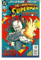 ADVENTURES OF SUPERMAN #507 NM! ~ SUPERMAN! - $1.00