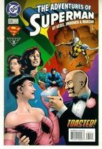 ADVENTURES OF SUPERMAN #535 NM! ~ SUPERMAN! - $1.00