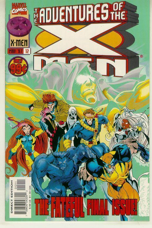 ADVENTURES OF THE X-MEN #12 NM!