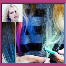Bright Hair Painting Color Fast Non-toxic D.I.Y. Pastel Temporary Dye Chalk  image 1