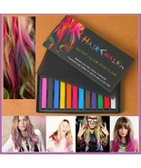 Bright Hair Painting Color Fast Non-toxic D.I.Y. Pastel Temporary Dye Ch... - $24.95