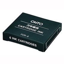 OHTO-stationery-ink fountain pen cartridge FCR-6 blue-black - $6.41