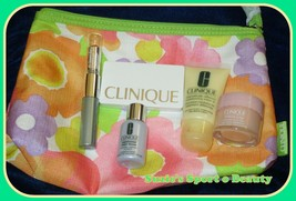 Clinique 5-piece 'Forgive & Forget' Bonus Collection with Cosmetic Bag NEW - $19.75
