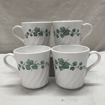 Corningware Callaway Ivy pattern tea/coffee 296ml cups-set of 4 - $8.91