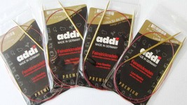 "SPECIAL: 10-Pair Set of Addi 80 cm (32"") Circular Lace Knitting Needles.... - $129.99"