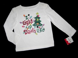 Girls 3 T   Jumping Beans   I Light Up Dad's Life Holiday Shirt - $12.00