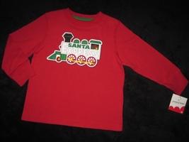 Boys 2 T    Jumping Beans   Santa Express Train Holiday Shirt - $12.00