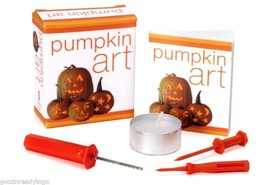 PUMPKIN ART MINI BOOK KIT by Susan Hom Halloween Fun New - $9.79
