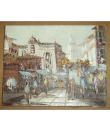 SIGNED R. BIRCHARD IMPRESSIONIST FRANCE OIL PAI... - $484.49