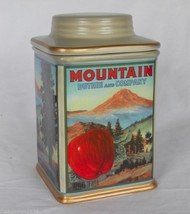 Oneida Vintage Label Ceramic Canister Duthie & Co. Mountain Apples Portland OR - $29.95
